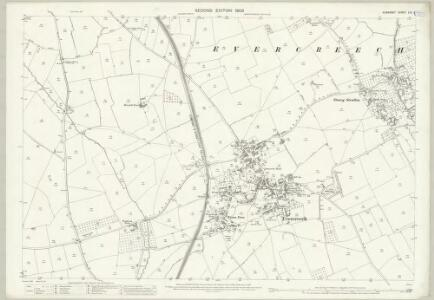 Somerset LIV.5 (includes: Doulting; Evercreech) - 25 Inch Map