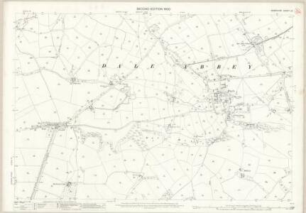 Derbyshire L.8 (includes: Dale Abbey; Ockbrook; Spondon; Stanley) - 25 Inch Map