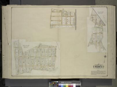 Queens, Vol. 1, Double Page Plate No. 22; Part of     Ward 4; [Map bounded by Road to Landing, Ocean Ave.; Including Freeland Ave.];   Sub Plan From Plate No. 17; [Map bounded by New York and Rockaway Beach R.R.,    Road to Remsens Landing; Including