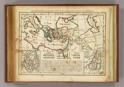 Regions, lieux dans le Nouveau Testament.