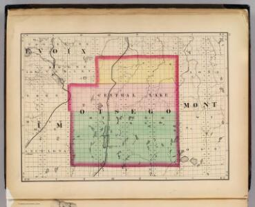 (Map of Otsego County, Michigan)