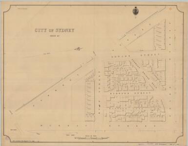 City of Sydney, Sheet K3, 1888