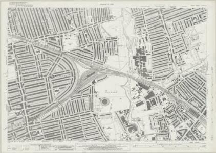 Essex (New Series 1913-) n LXXXVI.3 (includes: Barking; East Ham; Ilford) - 25 Inch Map