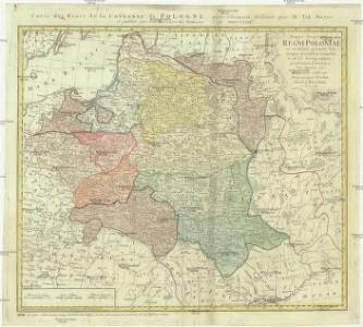 Mappa geographica regni Poloniae ex novissimis quot quot sunt mappis specialibus composita et ad LL. stereographica projectionis
