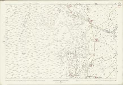 Devon LXXXIX.3 (includes: Gidleigh; Throwleigh) - 25 Inch Map