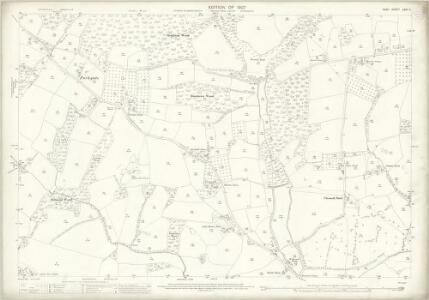 Kent LXXI.11 (includes: Tenterden) - 25 Inch Map