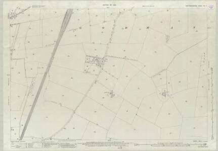 Huntingdonshire XXII.5 (includes: Brampton; Godmanchester; Offord Cluny) - 25 Inch Map