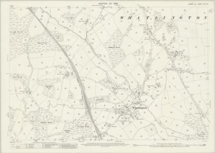 Sussex XLIII.12 (includes: Battle; Mountfield; Whatlington) - 25 Inch Map