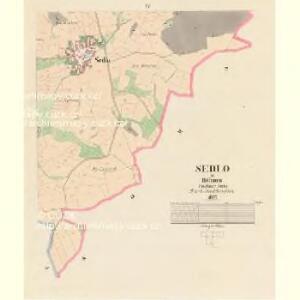 Sedlo - c6807-1-003 - Kaiserpflichtexemplar der Landkarten des stabilen Katasters