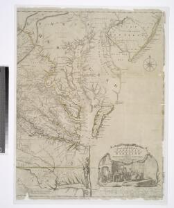 A map of the most inhabited part of Virginia containing the whole province of Maryland with part of Pensilvania, New Jersey and North Carolina / drawn by Joshua Fry & Peter Jefferson in 1775.