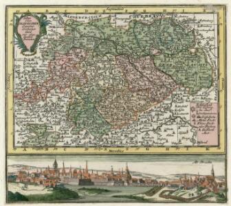 Des Ober Saechsischen Creises Südlicher theil mit abgetheilten Provintzen