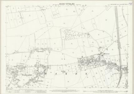 Lincolnshire XXV.14 (includes: Haxey) - 25 Inch Map