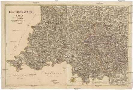 Königingratzer Kreis samt der Grafschaft Glatz