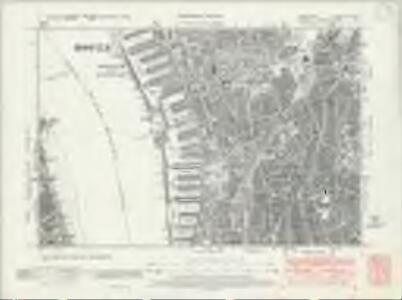 Lancashire CVI.NW - OS Six-Inch Map