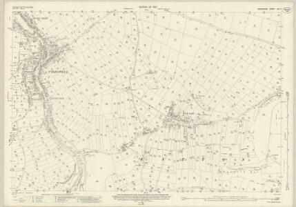 Derbyshire XVI.9 (includes: Litton; Tideswell; Wardlow) - 25 Inch Map