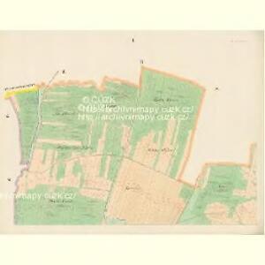 Plastowitz - c5816-1-001 - Kaiserpflichtexemplar der Landkarten des stabilen Katasters