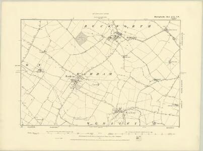 Huntingdonshire XVII.SE - OS Six-Inch Map