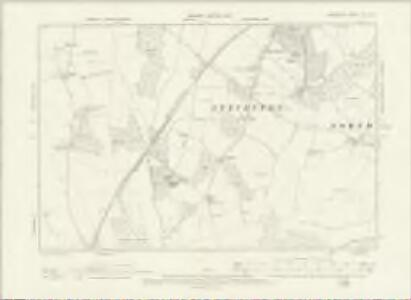 Hampshire & Isle of Wight XXV.NE - OS Six-Inch Map