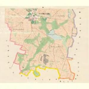 Stržebohostitz (Střebohostice) - c8041-1-004 - Kaiserpflichtexemplar der Landkarten des stabilen Katasters