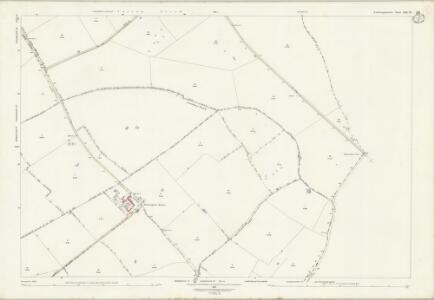 Northamptonshire XIX.12 (includes: Glatton; Great Gidding; Hemington; Luddington; Lutton; Polebrook) - 25 Inch Map