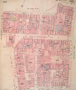 Insurance Plan of London Vol. IX: sheet 222