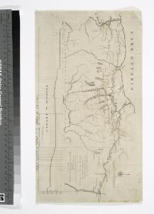 [Map of part of New York State between Albany and Buffalo : showing Erie Canal and other transportation routes] / D.W. Wilson, sc. Albany.