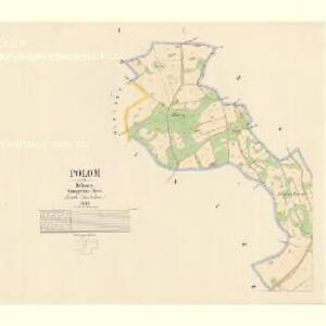 Polom - c5997-1-001 - Kaiserpflichtexemplar der Landkarten des stabilen Katasters