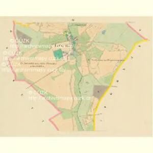 Lowtschitz - c4266-1-003 - Kaiserpflichtexemplar der Landkarten des stabilen Katasters