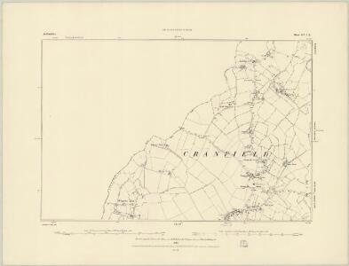 Bedfordshire XIII.NW - OS Six-Inch Map