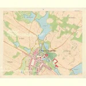 Kardaschrzetschitz - c3049-1-004 - Kaiserpflichtexemplar der Landkarten des stabilen Katasters