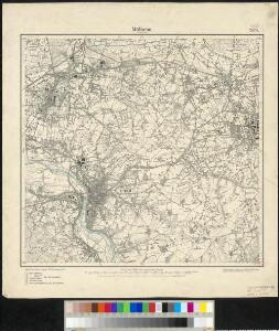 Messtischblatt 2575 : Mühlheim (An der Ruhr), 1894 Mülheim an der Ruhr