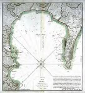 Carta de la bahia de Gibraltar
