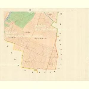 Moschtienitz - m0803-1-006 - Kaiserpflichtexemplar der Landkarten des stabilen Katasters
