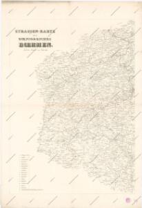 Strassenkarte des Koenigreiches Boehmen