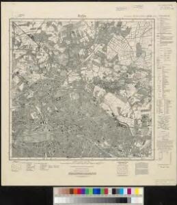 Meßtischblatt 3446 : Berlin (Nord), 1932