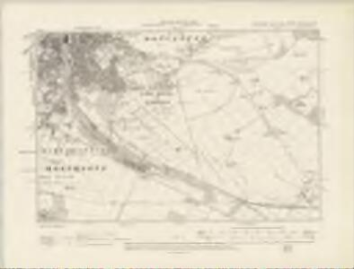Yorkshire CCLXXXV.NW - OS Six-Inch Map