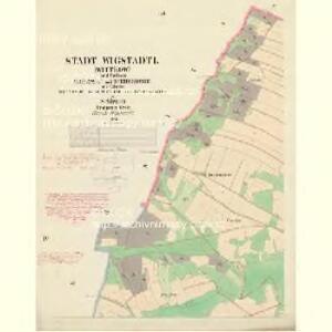 Wigstadtl (Wittkow) - m3417-1-004 - Kaiserpflichtexemplar der Landkarten des stabilen Katasters