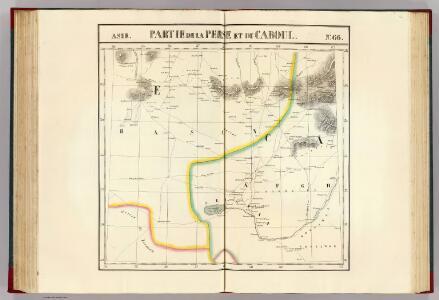 Partie, la Perse, du Caboul. Asie 66.