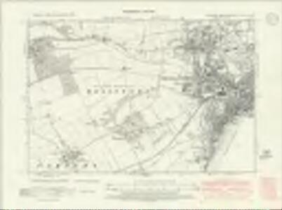 Yorkshire CXLVI.NW - OS Six-Inch Map