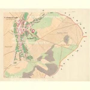 Aussee (Hausow) - m3235-1-004 - Kaiserpflichtexemplar der Landkarten des stabilen Katasters