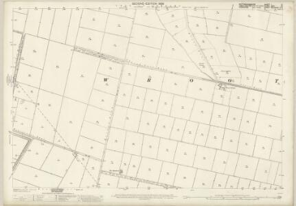 Nottinghamshire I.12 (includes: Finningley; Misson; Wroot) - 25 Inch Map