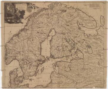 Accuratissima regnorum Sueciae, Daniae et Norvegiae, tabula