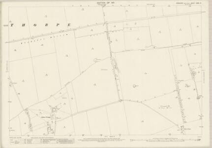 Yorkshire CXXVI.8 (includes: Foxholes; Thwing; Wold Newton) - 25 Inch Map