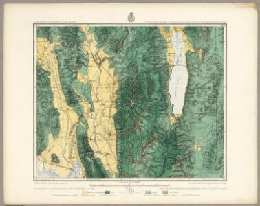 41B. Land Classification Map Of North-Eastern Utah & South-Eastern Idaho.