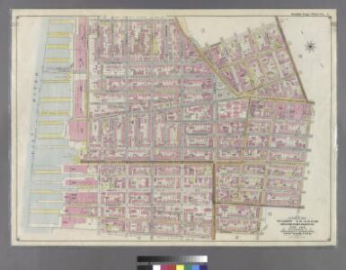 Part of Wards 1,3,4,6 &10. Land Map Sections, No.1&2, Volume 1, Brooklyn Borough, New York City.