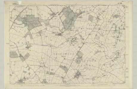 Oxfordshire XVI - OS Six-Inch Map