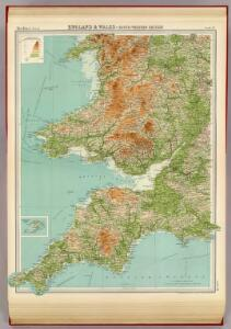 England & Wales, south-western section; Scilly Isles.