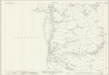 Derbyshire V.5 (includes: Bredbury and Romiley; Marple) - 25 Inch Map