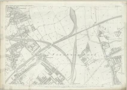 London (First Editions c1850s) IV (includes: Hornsey St Mary; Islington; Stoke Newington; Tottenham) - 25 Inch Map