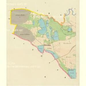 Kropitz - c3509-1-001 - Kaiserpflichtexemplar der Landkarten des stabilen Katasters